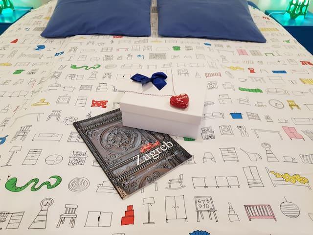 Fabrik 59 B&B  - Frühstücksbox im Bett
