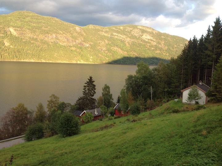 Koselig hytte på Gøynes ved Tinnsjøen