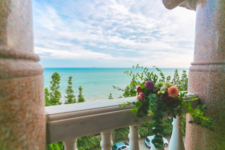 青岛·HighStone·海石居度假别墅B401【全海景·度假首选】