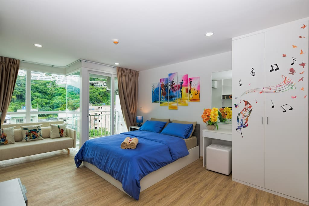 Let this amazing mountain view apartment be your home in Phuket!