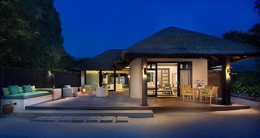 JA Manafaru - Deluxe Beach Villa with Family Pool