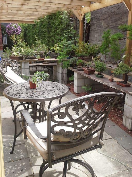 Votre terrasse privée