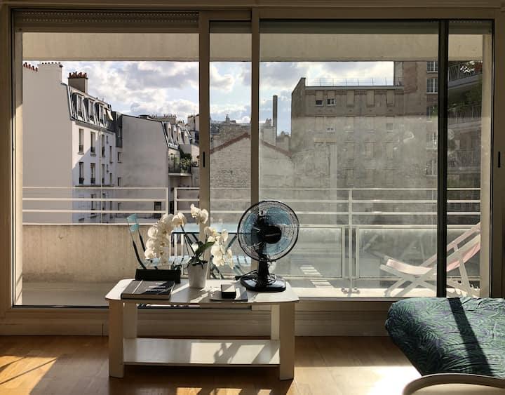 SUNNY BALCONY - STUDIO PARIS 11
