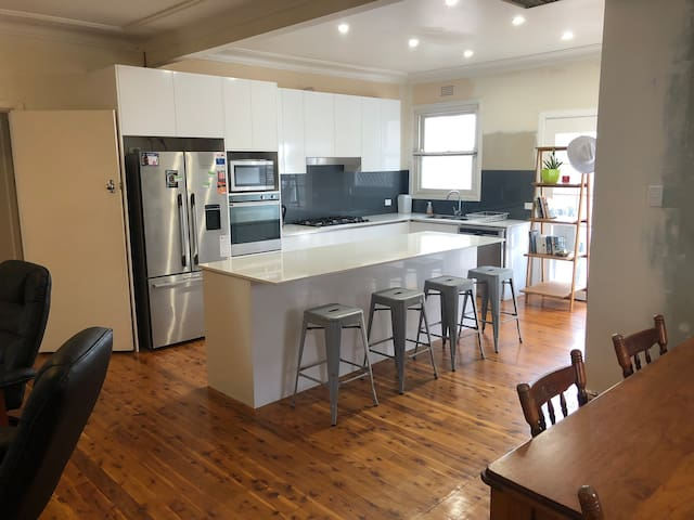 Spacious open plan home in a prime location