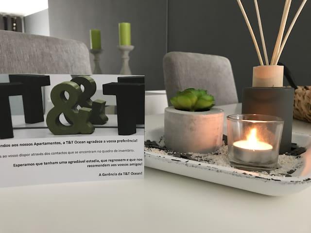Apartamento T&T Ocean - Foz Palace Residence SPA