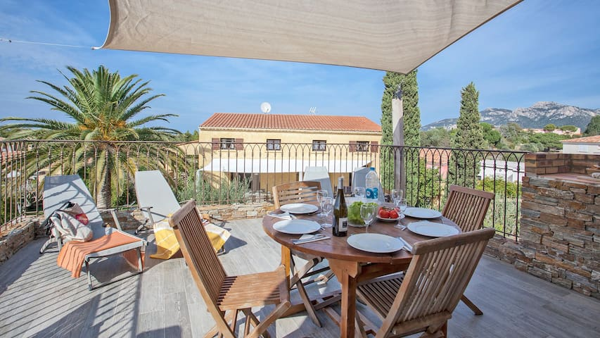 """Very nice apartment """"Hortensia"""" 4-6 persons, air conditioned, terrace wi..."""