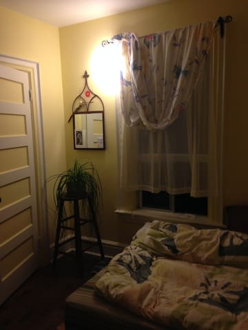 Bright room in a beautiful old house with a garden - Toronto - Huoneisto