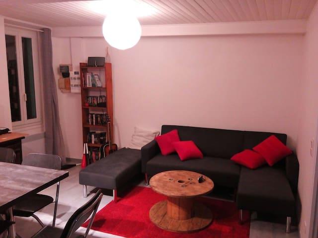 Chambre à Saint Martin Vésubie - Saint-Martin-Vésubie - Apartment