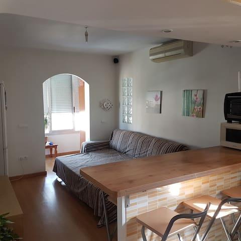 Benidorm.Apartamento en playa poniente-centro.