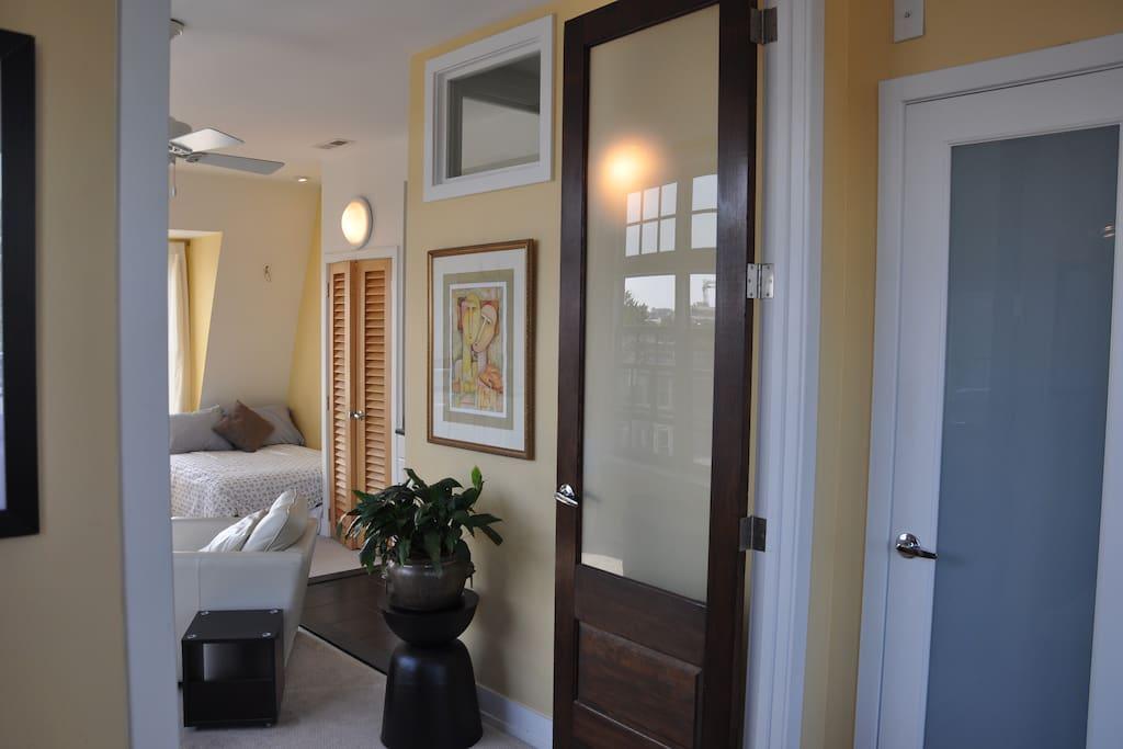 Master Bedroom suite. 2nd floor