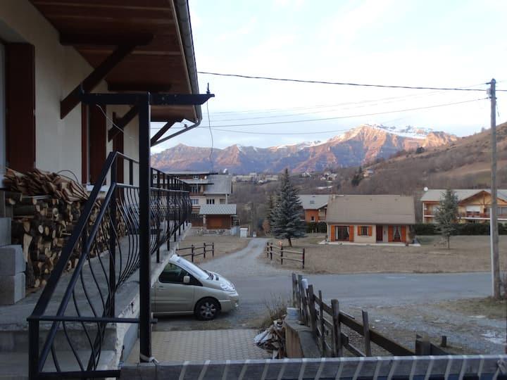 Ancelle : appartement 55 m2 avec terrasse