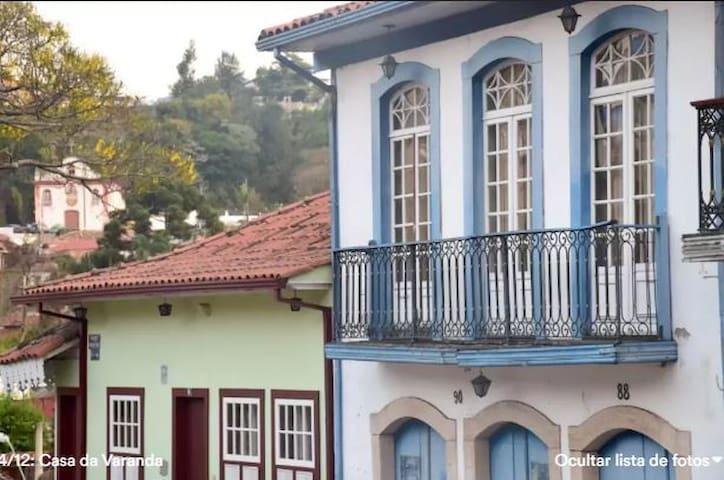 Quarto Centro histórico ( Casa da Varanda)
