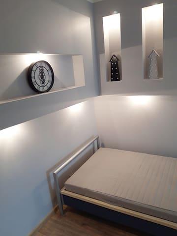 sypialnia nr. 1 z pojedynczym łóżkiem