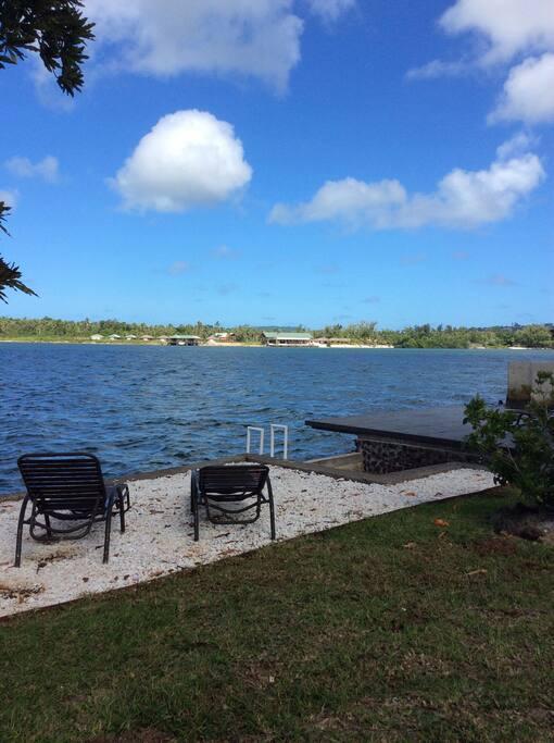 outlook on the lagoon