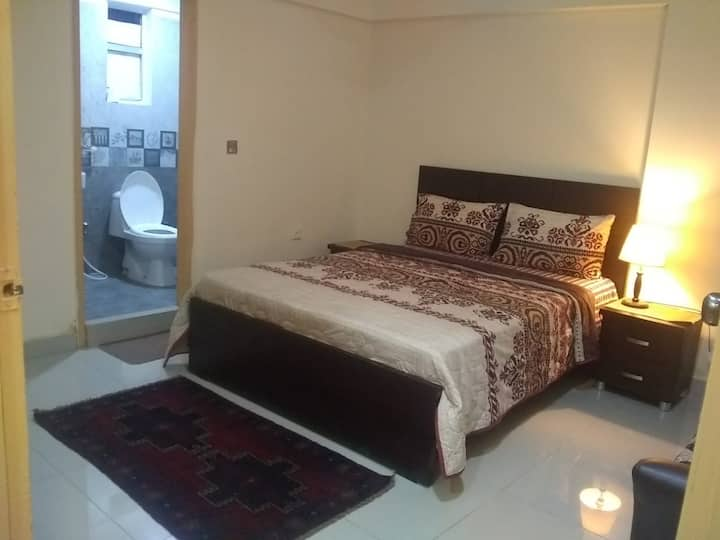 1 Bed Furnished Dha Phase 6 Karachi