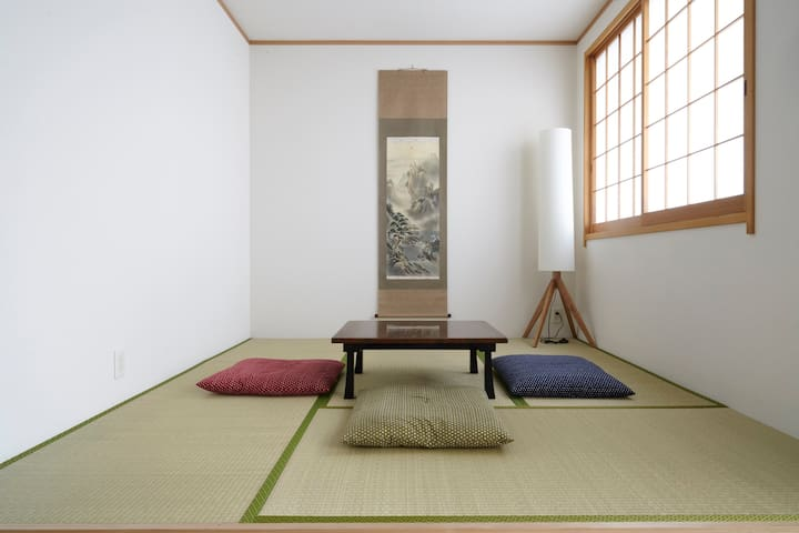 1 min walk from station & Tatami mats room - Taitō-ku - Casa