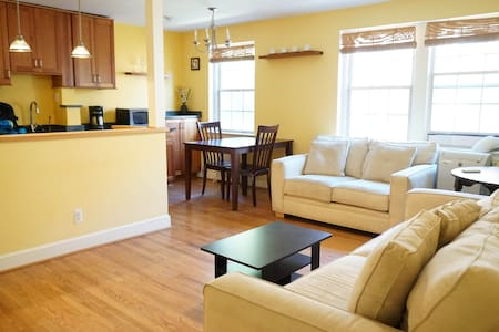 Stylish 1 bedr. corner apt in Georgetown/Palisades - Washington