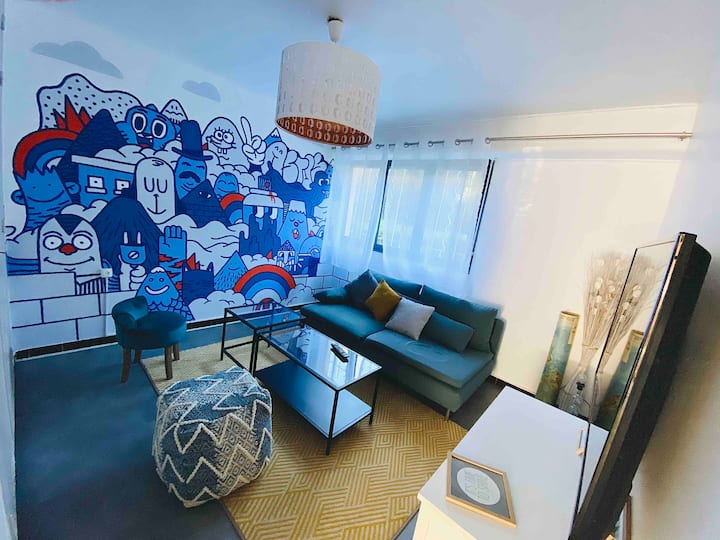 Appartement dans résidence calme à aix en provence