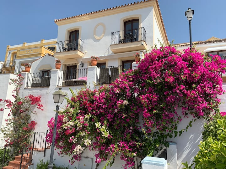 Beautiful Spanish Town House with superb sea views