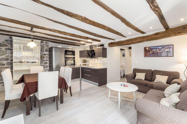 Centrico apartamento en tipica casa de pescadores