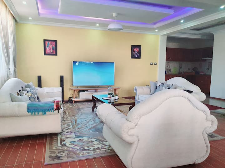 Luxury and clean  villa in popular area of addis