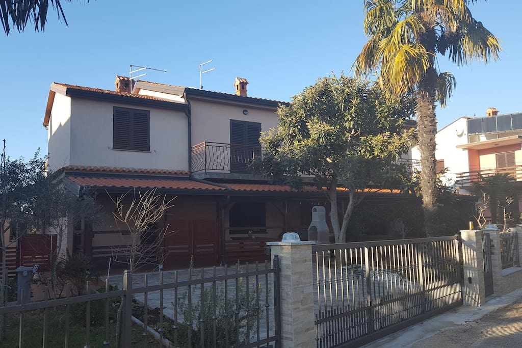 Street view of the house