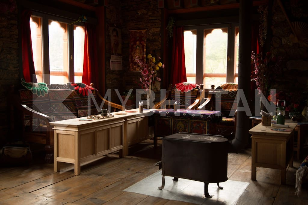 Inside the Bhutanese home