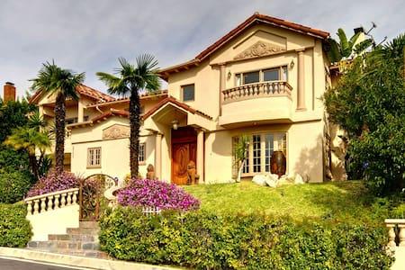 Achilles Villa. Hidden, Private. - Los Angeles