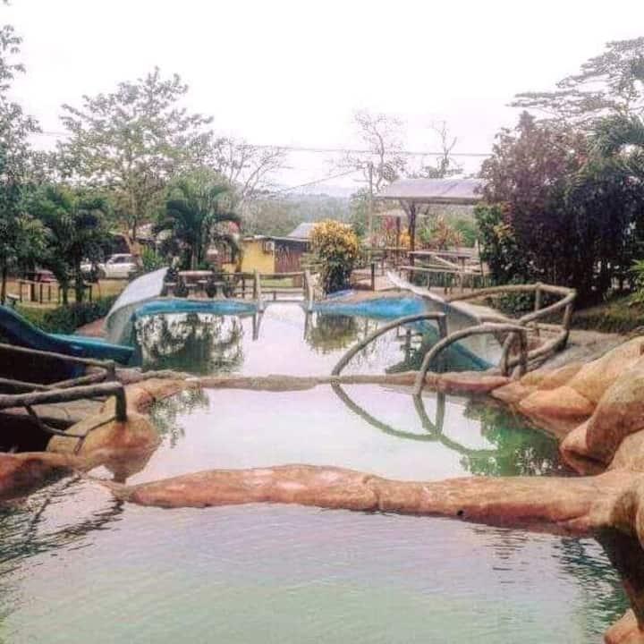 Agua hermosa Hot springs