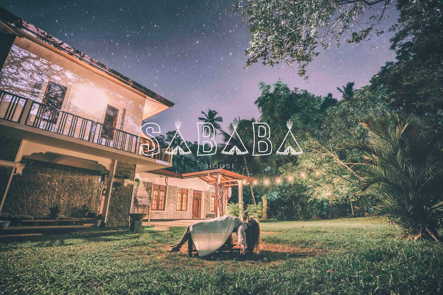 SABABA HOUSE is a garden full of LOVE & ART