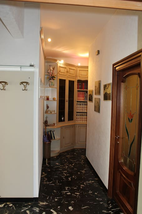 entry of the flat