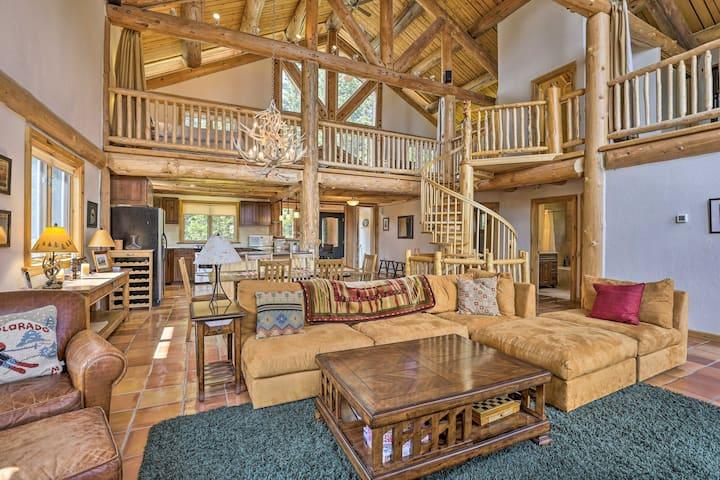 NEW! Elegant Breck Cabin - 11 Miles to Main Street