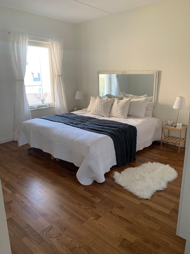 White room.