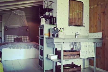 't Atelier: rustig en rustiek bij het Markermeer - Kisház