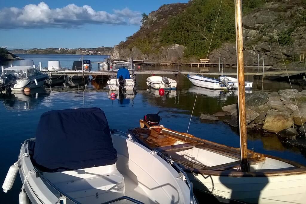 Föreningens båt- och badplats
