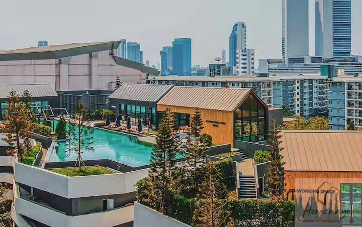 swimming pool/拉差达火车夜市/MRT/中文房东/Rute66/RCA/代购街/三象神