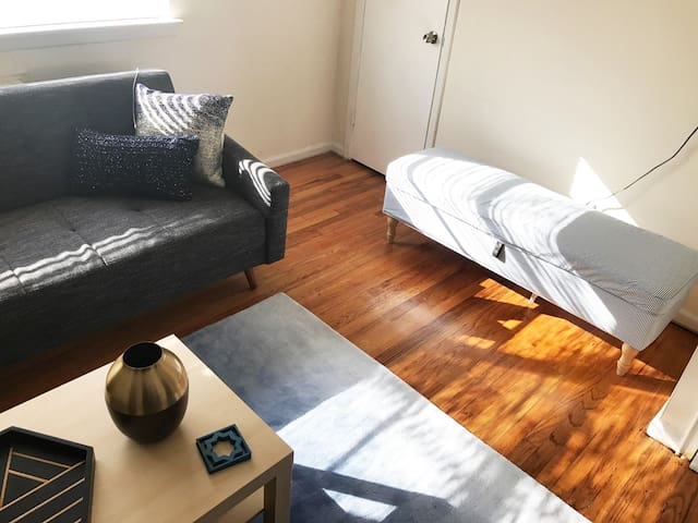 Relaxing Garden Apartment (15-20 min to NYC!) - Hackensack - Apartamento