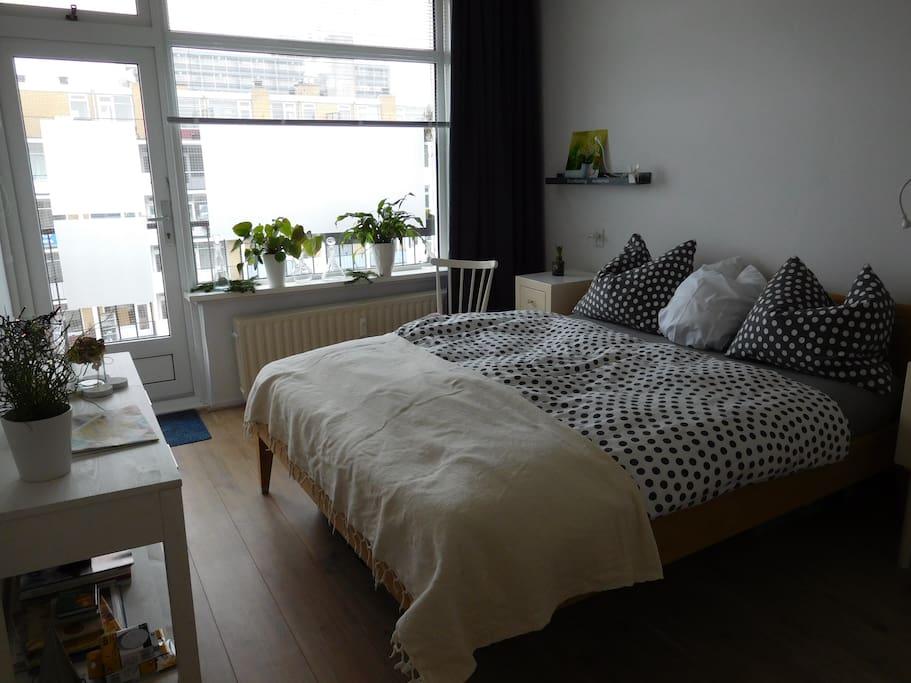 Gezellige, comfortabele slaapkamer