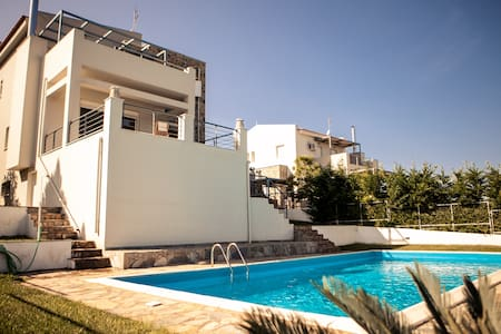 Luxury villa in Theologos - Theologos - Appartement