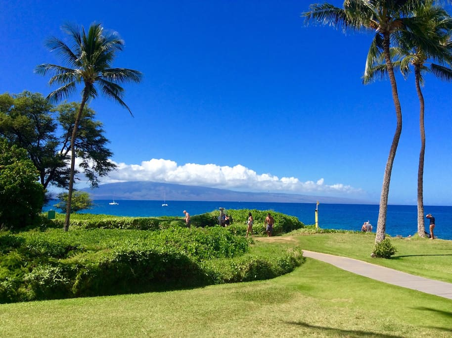WALK TO KA'ANAPALI N BCH