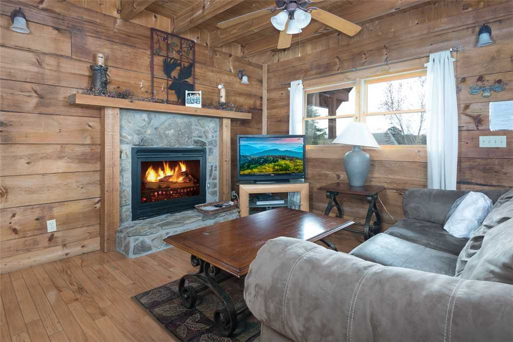 Couch, Furniture, Fireplace, Hearth, Entertainment Center