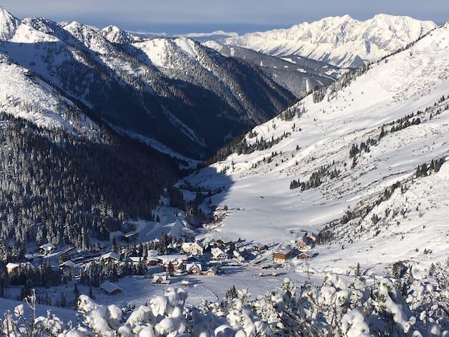 Wohnung im Ski-Wandergebiet Planneralm auf 1600m