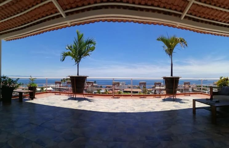 The best location/view stay at Tequila Cazadores