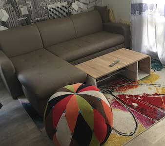 Canapé convertible dans le séjour - Choisy-le-Roi - Kondominium