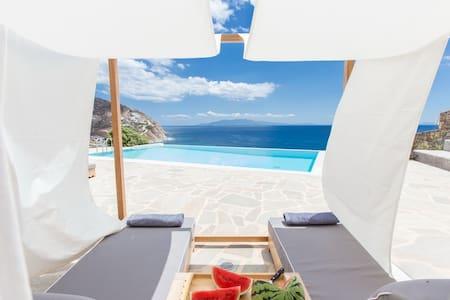 Villa Ambra on the beach with private pool - Elia - Villa