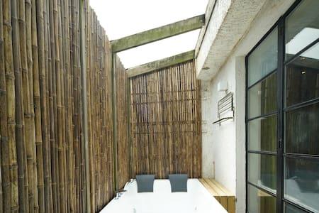 中山公园百年洋房,竹林阳光SPA大浴缸 - Shanghaï