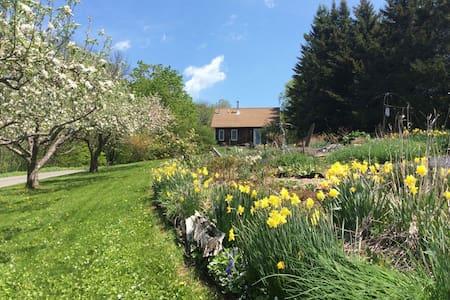 Vermont Hillside Garden Cottage