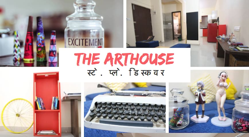 ARTHOUSE IN THE HEART OF THE CITY - Bangalore - Huis