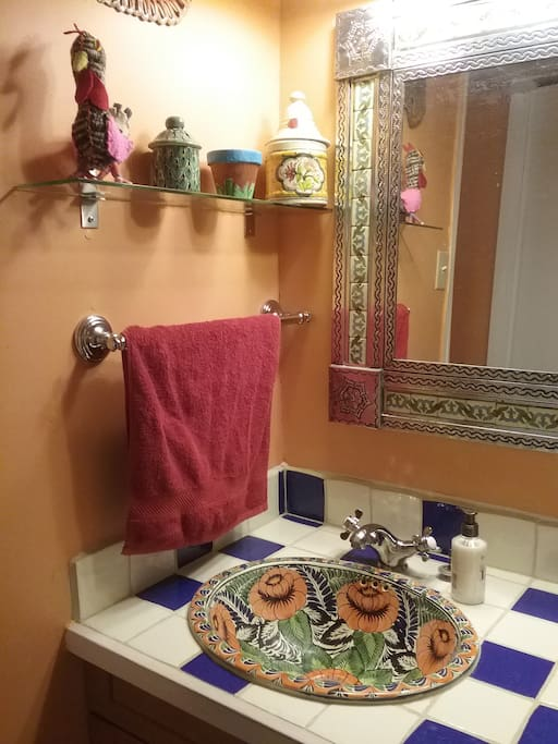 The Mexican washroom