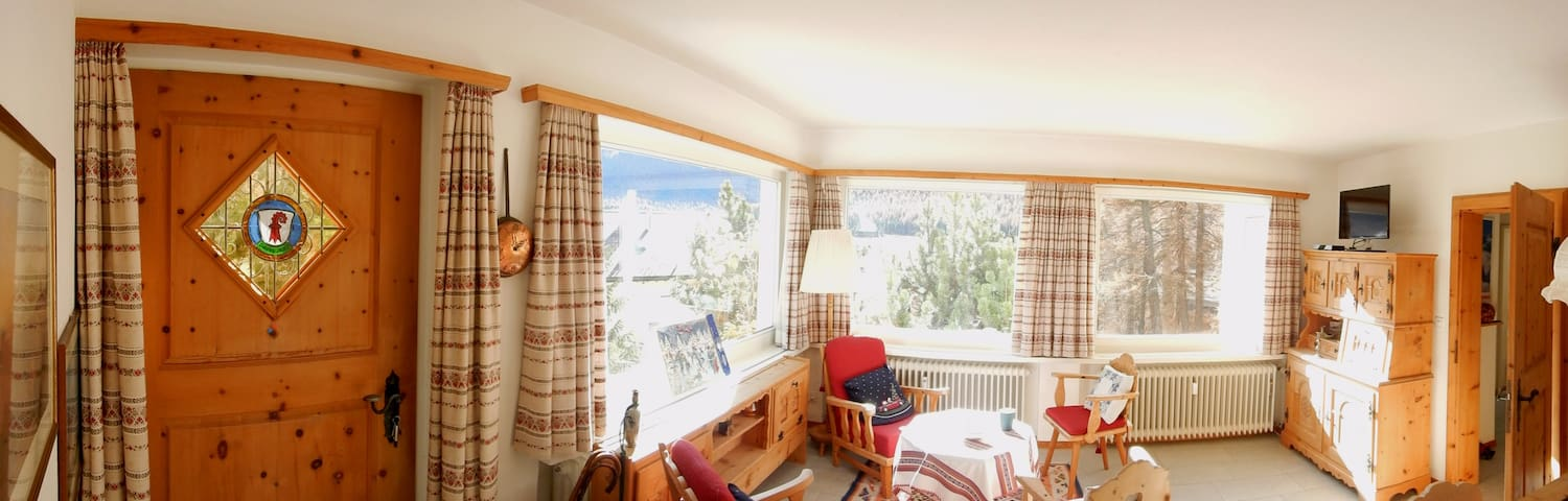 Vacations in the swiss alps - Pontresina - อพาร์ทเมนท์